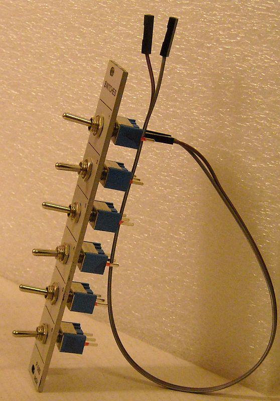 P-060 Switches (DIY kit, 4HP) – ladik.eu